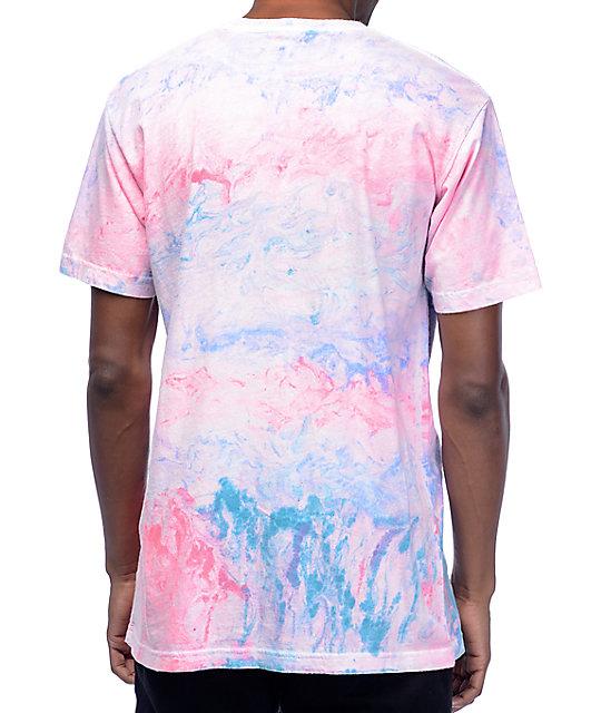 334a34c9 Duvin Design Marble Multi-Colored T-Shirt   Zumiez
