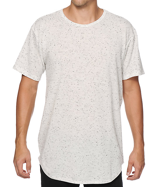 c0a557d009f EPTM. Basic Elongated Oreo Drop Tail Long T-Shirt