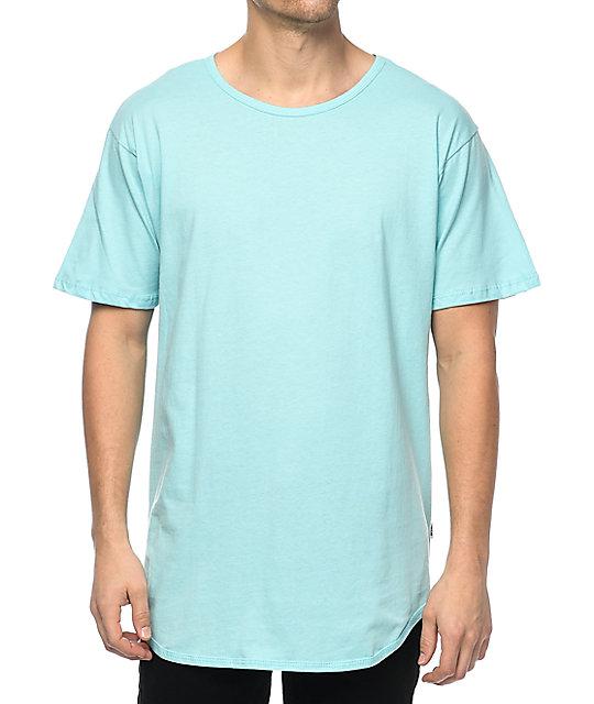 EPTM. OG Light Blue Elongated T-Shirt | Zumiez