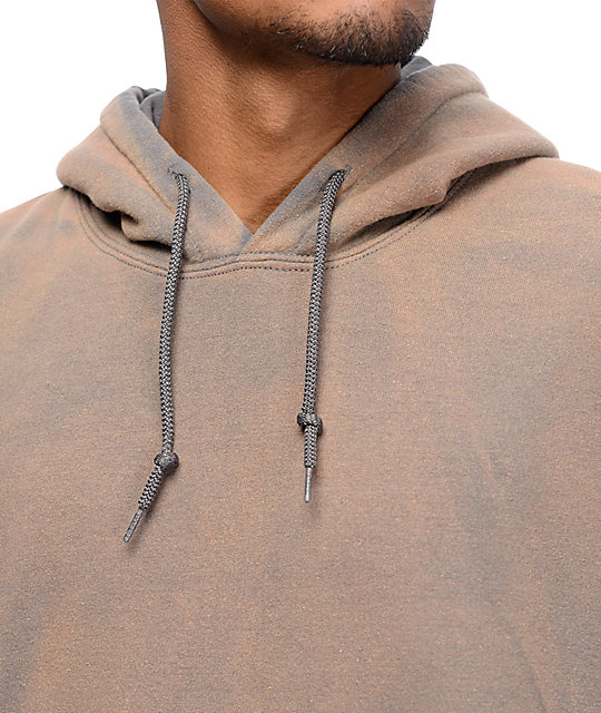 badb2aa58 Powder Wash Grey Hoodie; EPTM. Powder Wash Grey Hoodie