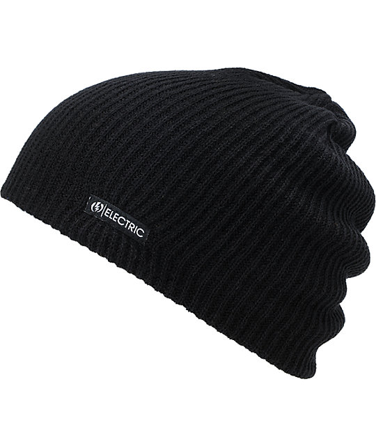 Electric 30W Black Beanie