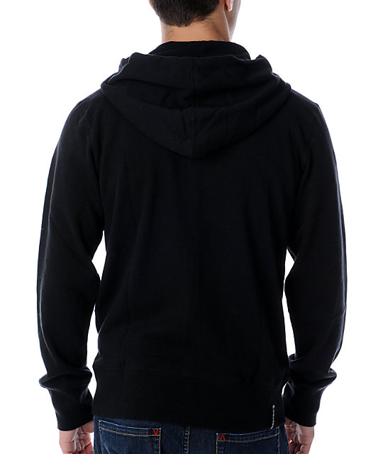 Electric Chromovolt Black Hoodie