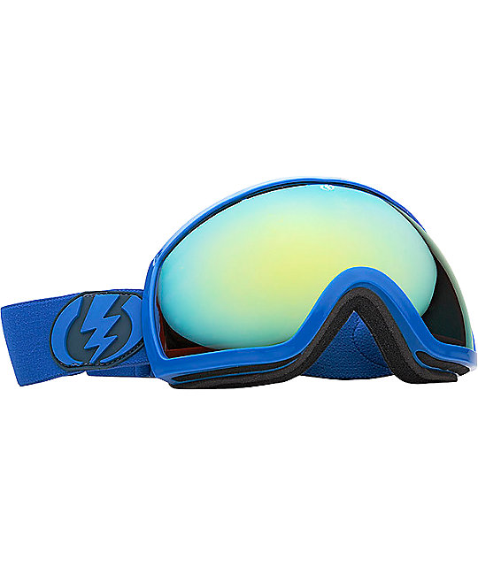 Electric EG2 Blue Bronze & Gold Snowboard Goggles