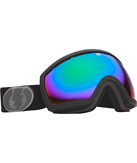 Electric EG2.5 Jet Exhaust Black Snowboard Goggles