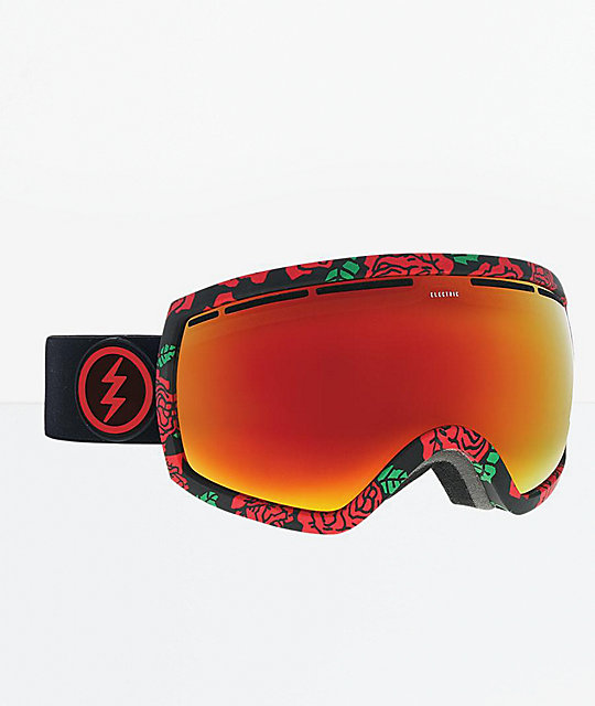 Electric EG2.5 Rosa & Brose Red Chrome Snowboard Goggles