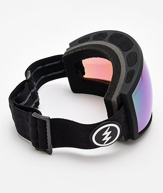 Electric EGG Matte Black, Brose & Green Snowboard Goggles