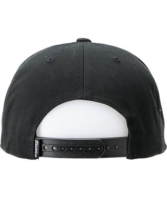 ... Electric Garage Black Snapback Hat 51d782ed8bec