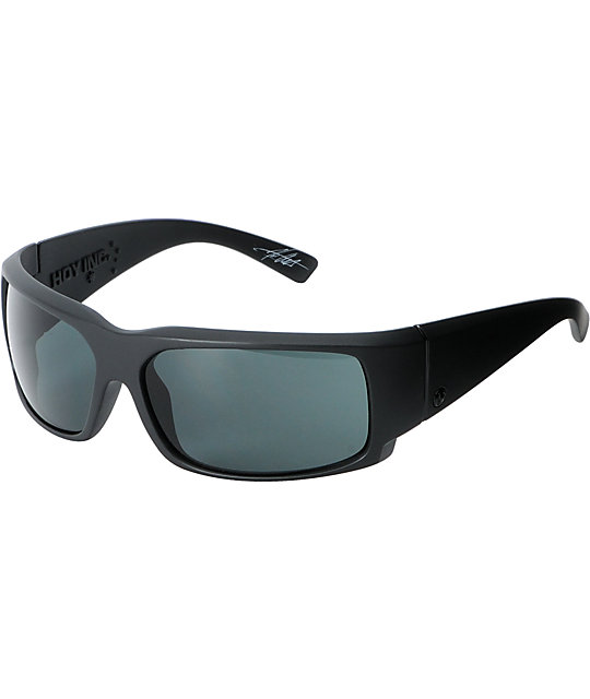 Electric Hoy Inc Matte Black & Grey Sunglasses