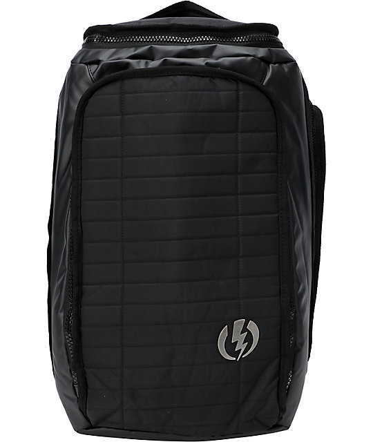 Electric Induction Black Backpack