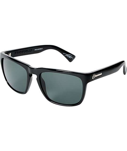 Electric Knoxville Black Gloss Polarized Sunglasses