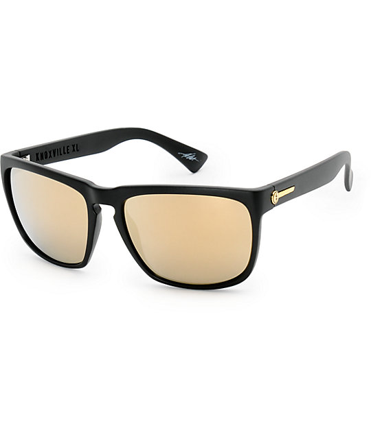 Electric Knoxville XL gafas de sol en negro mate y oro