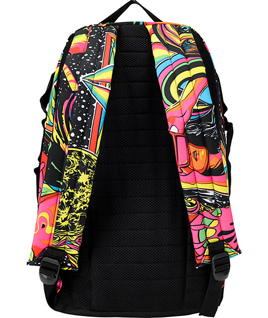 Electric MK2 Blurred Print Skate Skate Backpack