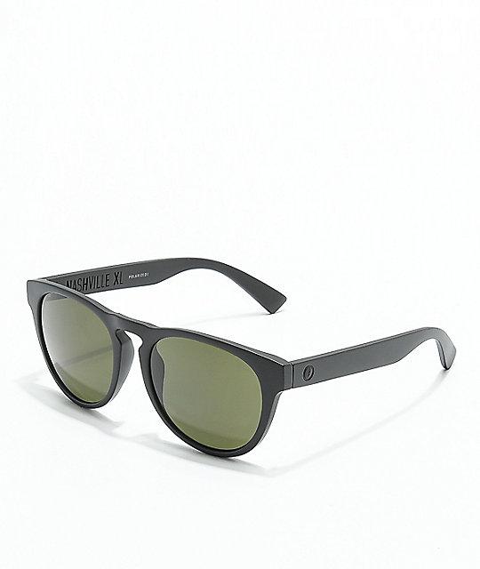 3477cba067a Electric Nashville XL Matte Black   Grey Polarized Sunglasses