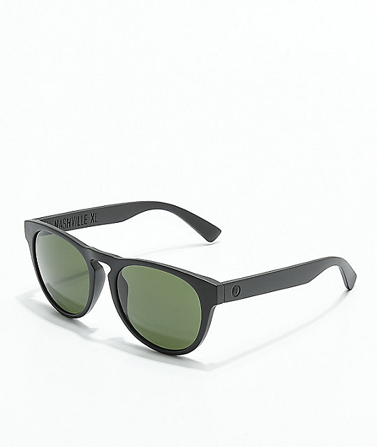 Electric Nashville XL Matte Black & Grey Sunglasses
