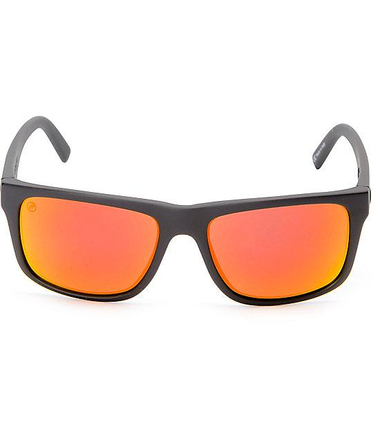 9e8109eb70 Electric Swingarm XL Matte Black   Fire Chrome Sunglasses