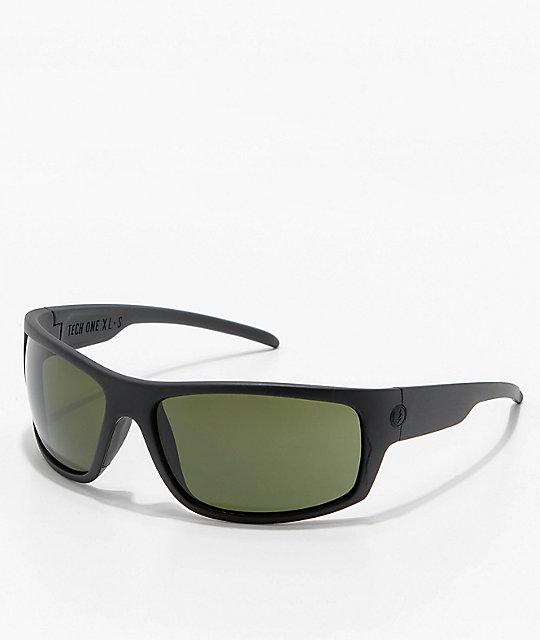 8599fe0e5f Electric Tech One XL Matte Black   Grey Sunglasses