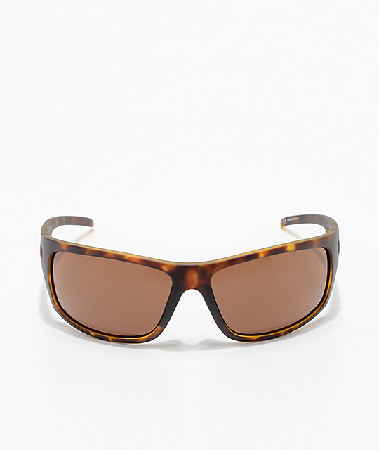 Electric Tech One XL Matte Tortoise & Bronze Sunglasses