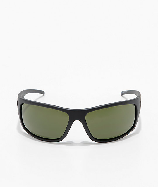 Electric Tech One XL gafas de sol polarizadas en negro mate y gris