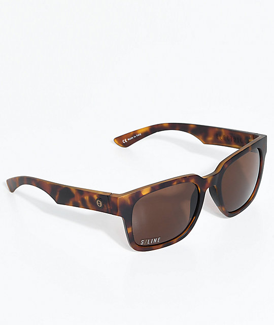 Electric Zombie S Matte Tortoise and Bronze Sunglasses
