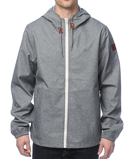 Element Alder chaqueta gris