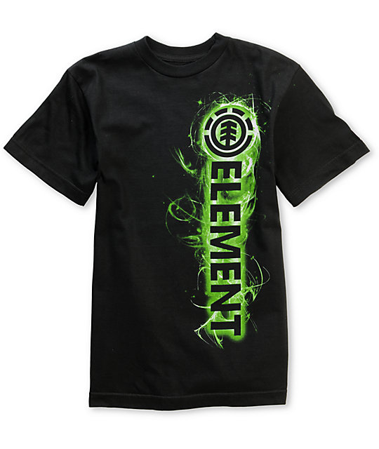 Element Algorithm Boys Black T-Shirt