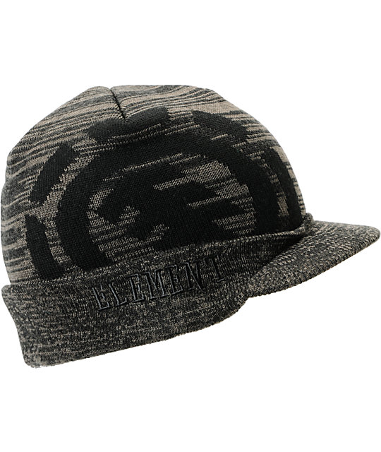 Element Arapahoe Charcoal Grey Visor Beanie