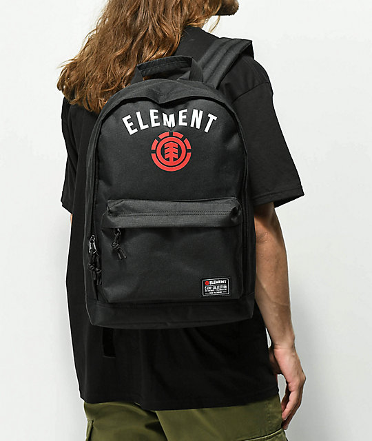 Element Beyond Arch Black Backpack