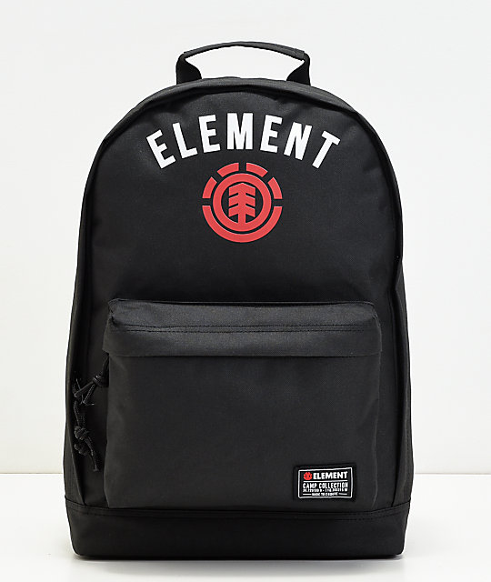 0c630ebceaa Element Beyond Arch Black Backpack