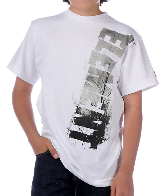 Element Boys Window White T-Shirt