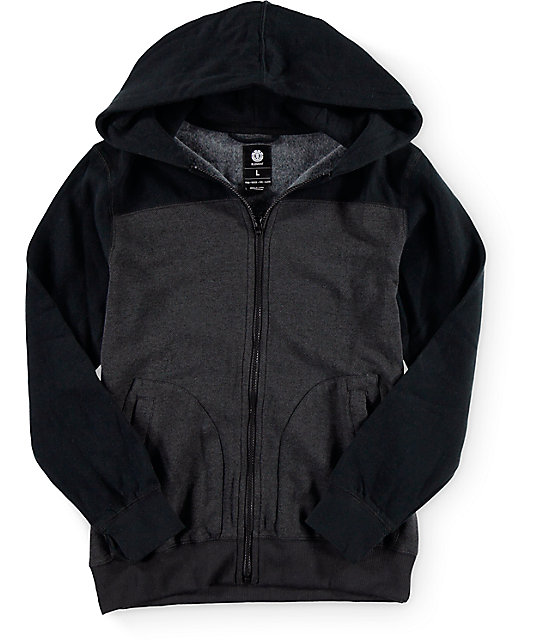 Element Boys Zenith Zip Up Hoodie