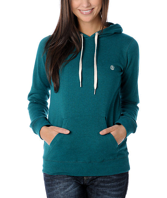 Element Coraline Turquoise Pullover Hoodie