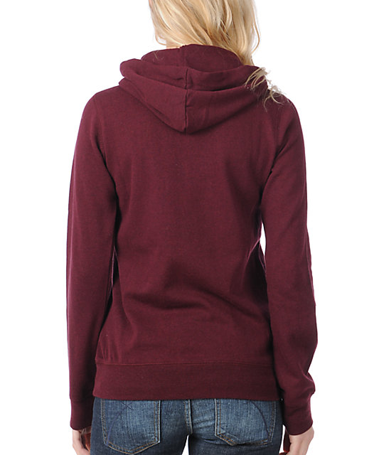 Element Corey Red Pullover Hoodie