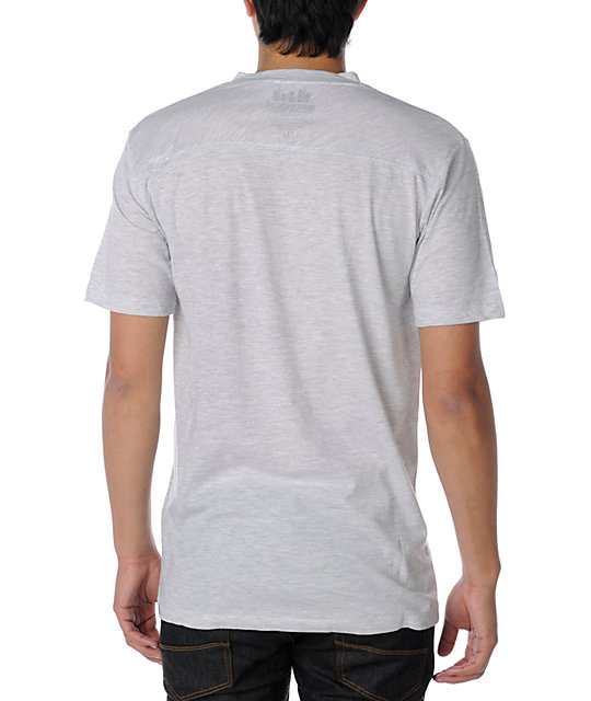 Element Curtis White & Grey Knit T-Shirt