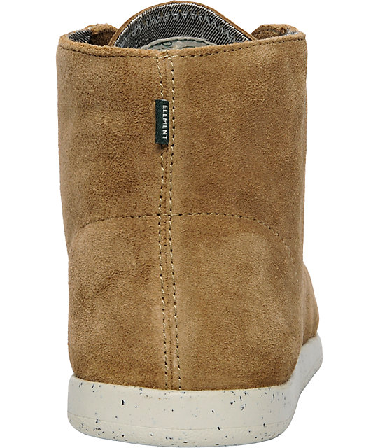 Element Emerald Prescott Tan Suede Boot