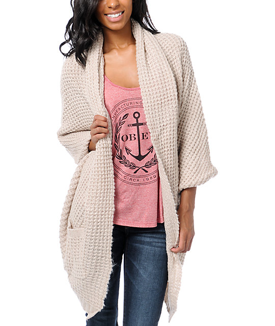 Element Estonia Dust Cardigan Wrap Sweater