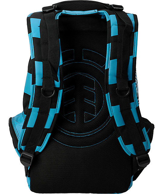 Element Gamine Black & Turquoise Backpack