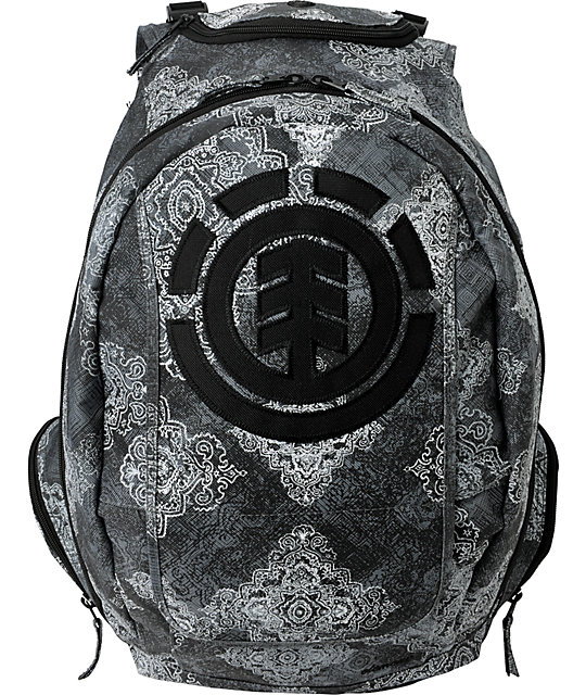 Element Gamine Wallpaper Grey Backpack