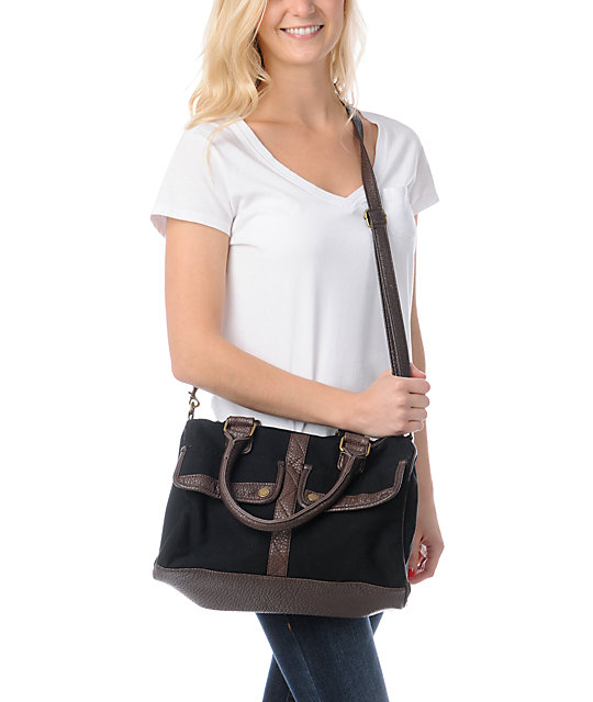 Element Girls Echo Black Shoulder Bag