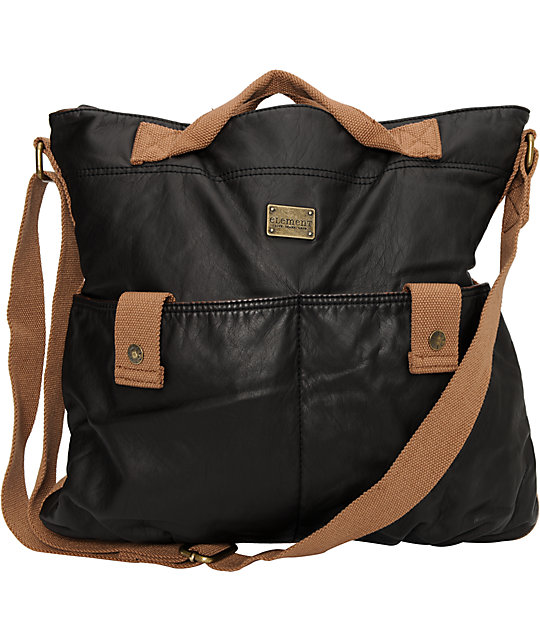 Element Girls Serrano Brown Tote Bag