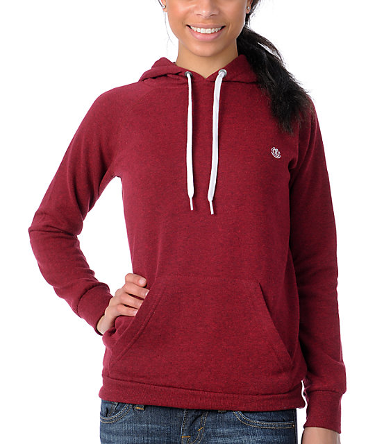 Element Harper Red Pullover Hoodie