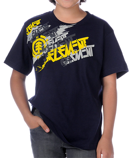 Element High Speed Navy Blue T-Shirt