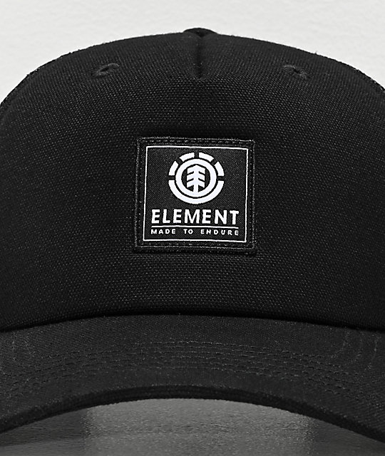 Element Icon Black Trucker Hat