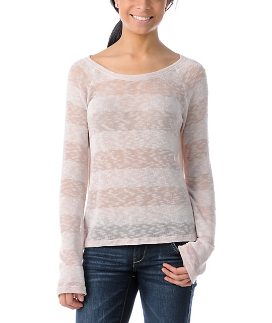 Element Jasmine Dust Stripe Knit Sweater