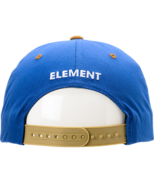 Element Knutsen Blue & Tan Snapback Hat