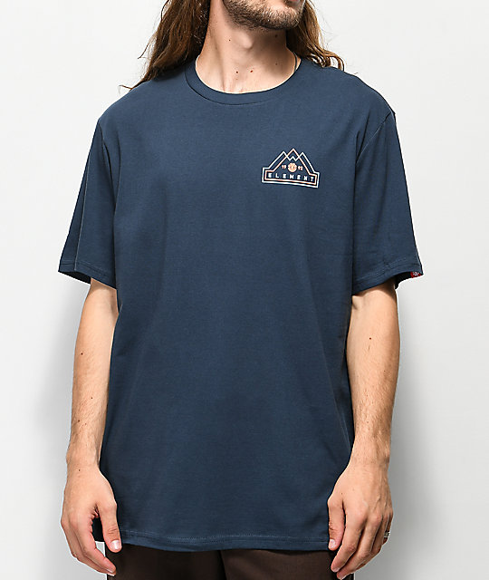 Element Lateral Navy T-Shirt