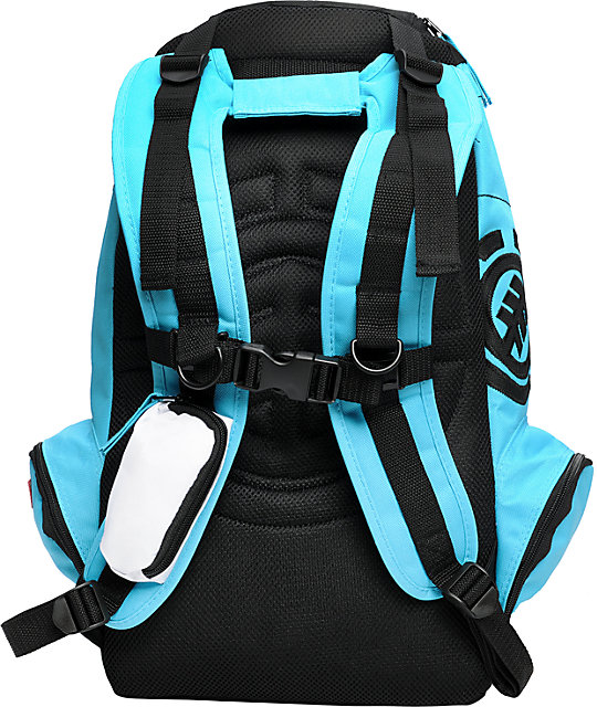 Element Mohave Black & Turquoise Skate Backpack