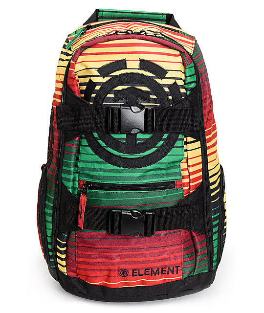 Element Mohave Century Rasta Laptop Backpack