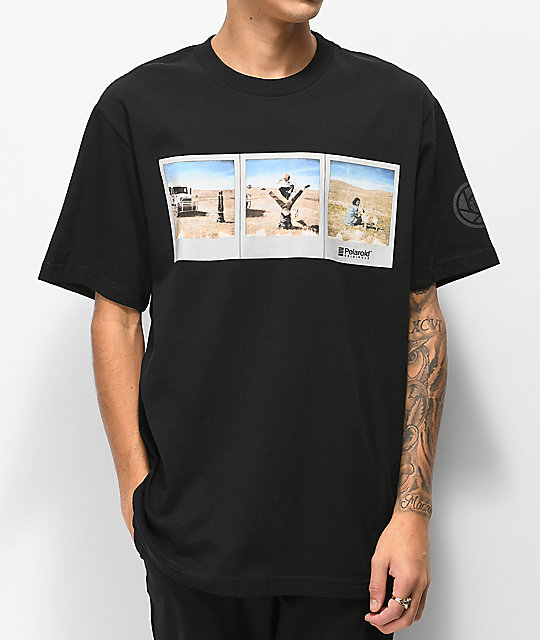 Element Nick Garcia Polaroid Black T-Shirt