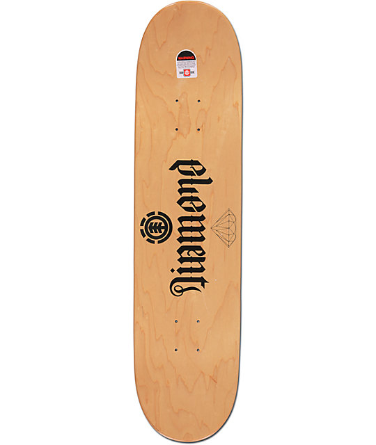 "Element Nyjah Clarity 8.0""  Skateboard Deck"
