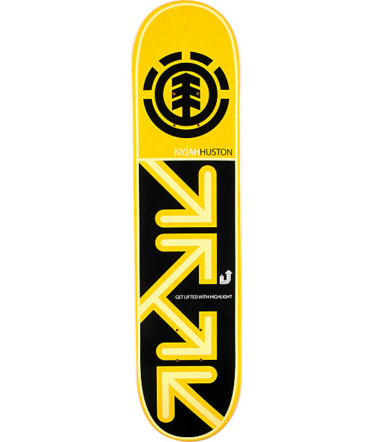 "Element Nyjah Drop Down 7.62""  Skateboard Deck"